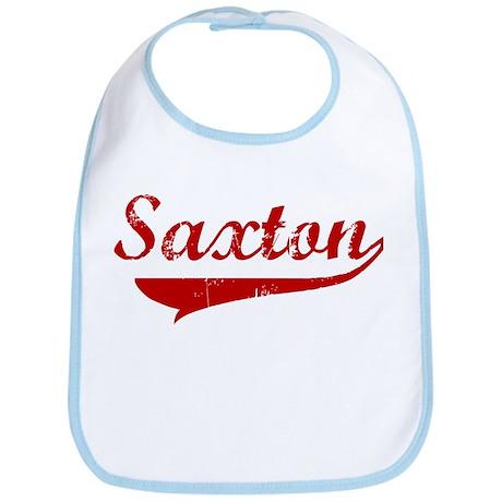Saxton (red vintage) Bib