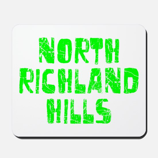 North Richla.. Faded (Green) Mousepad