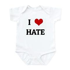 I Love HATE Infant Bodysuit