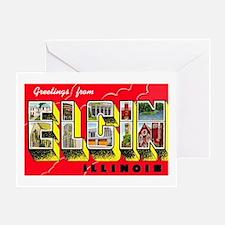 Elgin Illinois Greetings Greeting Card