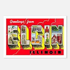 Elgin Illinois Greetings Postcards (Package of 8)