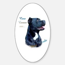 Corso Best Friend1 Oval Decal