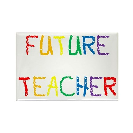 Future Teacher Rectangle Magnet