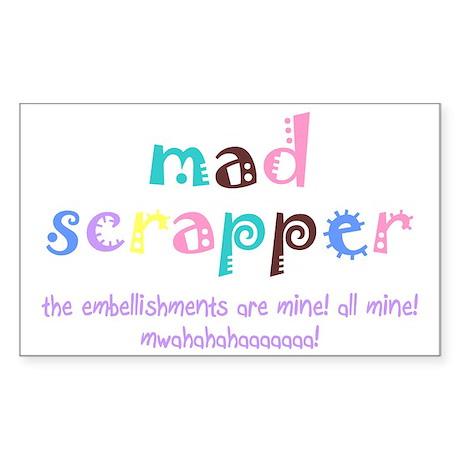 Mad Scrapper Rectangle Sticker