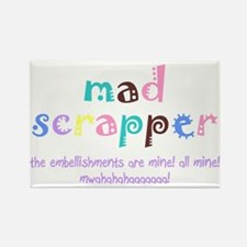 Mad Scrapper Rectangle Magnet