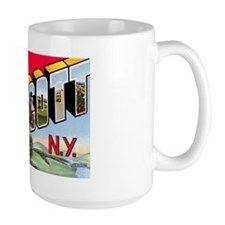 Endicott New York Greetings Mug