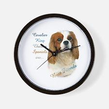 Cavalier Best Friend1 Wall Clock