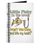 Little Fishy in the Brook Journal