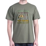 Little Fishy in the Brook Dark T-Shirt