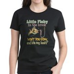 Little Fishy in the Brook Women's Dark T-Shirt