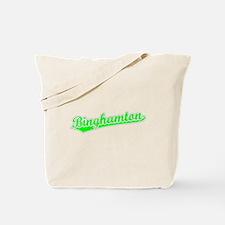 Retro Binghamton (Green) Tote Bag