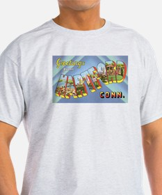 Hartford Connecticut Greetings (Front) T-Shirt