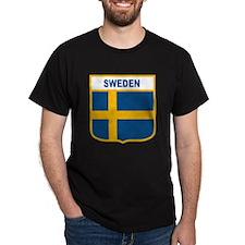 Cute Sweden flag T-Shirt