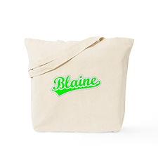 Retro Blaine (Green) Tote Bag
