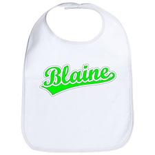 Retro Blaine (Green) Bib