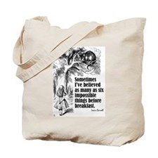 "Carroll ""I've Believed"" Tote Bag"