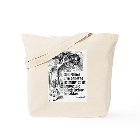 "Carroll ""I've Believed"" Tote Bag"