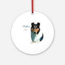 Collie(smooth) Best Friend 1 Ornament (Round)