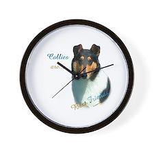 Collie(smooth) Best Friend 1 Wall Clock