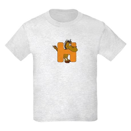 H is for Horse Kids Light T-Shirt
