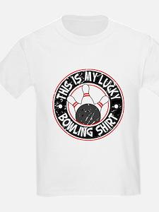 Lucky Bowling Shirt Kids T-Shirt