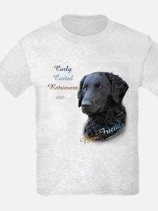Curly-Coat Best Friend 1 T-Shirt