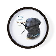 Curly-Coat Best Friend 1 Wall Clock