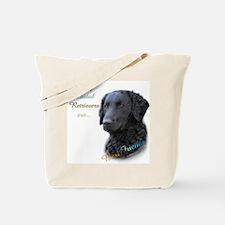 Curly-Coat Best Friend 1 Tote Bag