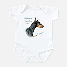 Dobie(blk) Best Friend1 Infant Bodysuit