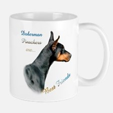 Dobie(blk) Best Friend1 Mug