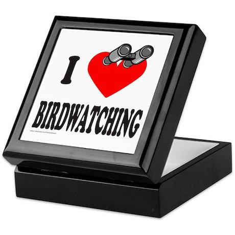 I HEART BIRDWATCHING Keepsake Box