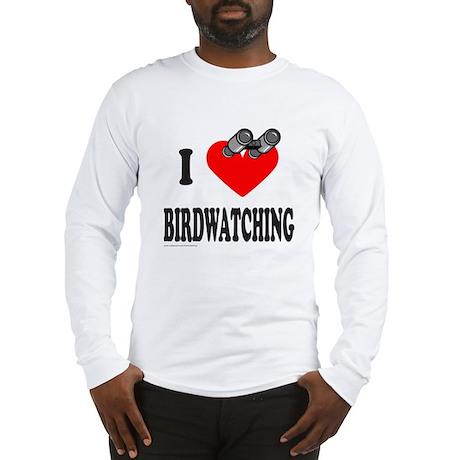 I HEART BIRDWATCHING Long Sleeve T-Shirt