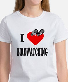 I HEART BIRDWATCHING Tee