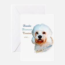 Dandie Best Friend 1 Greeting Card