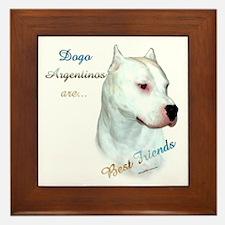Dogo Best Friend 1 Framed Tile
