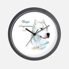 Dogo Best Friend 1 Wall Clock