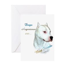 Dogo Best Friend 1 Greeting Card