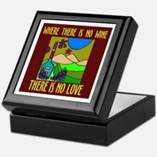 WINE LOVER Keepsake Box