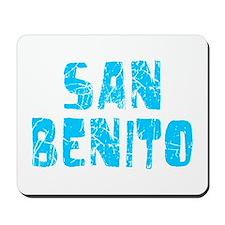 San Benito Faded (Blue) Mousepad