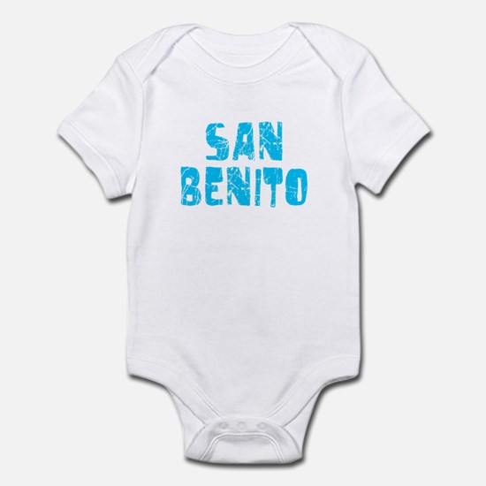 San Benito Faded (Blue) Infant Bodysuit