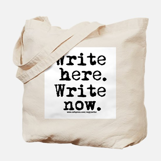 Write Here Tote Bag