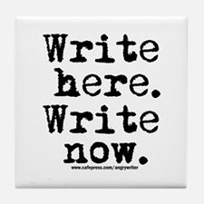 Write Here Tile Coaster