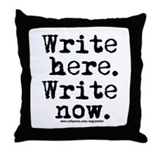 Write Here Throw Pillow