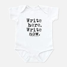 Write Here Infant Bodysuit