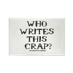 Who Writes Rectangle Magnet (100 pack)