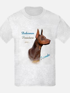 Dobie(red) Best Friend 1 T-Shirt