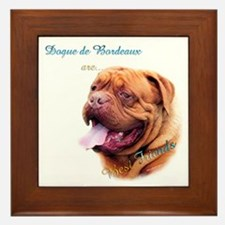 Dogue Best Friend 1 Framed Tile