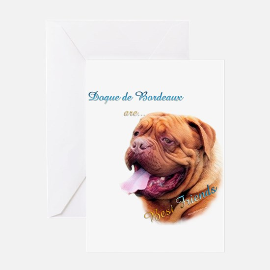 Dogue Best Friend 1 Greeting Card