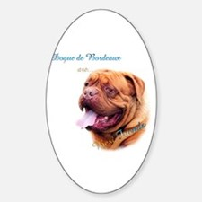 Dogue Best Friend 1 Oval Decal