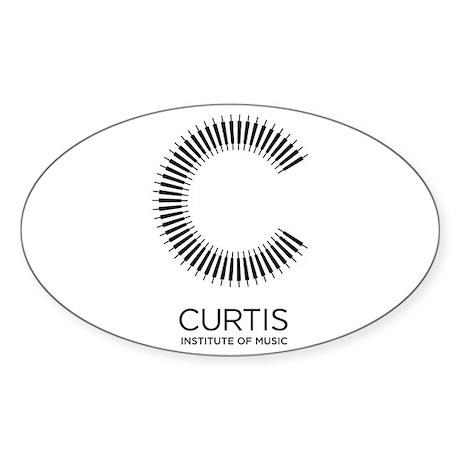 Curtis Sticker (Oval)
